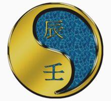 Dragon Yang Water One Piece - Long Sleeve