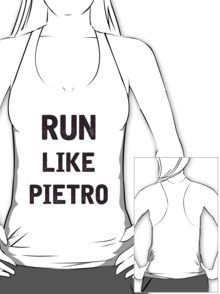 Run Like Pietro  T-Shirt
