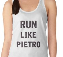 Run Like Pietro  Women's Tank Top