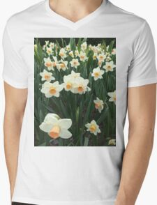 Daffodils, NYC Mens V-Neck T-Shirt