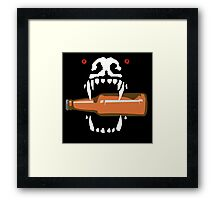 Bad Dog Beer Framed Print