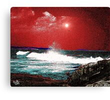 Whaleback at Peaks Island Maine Canvas Print