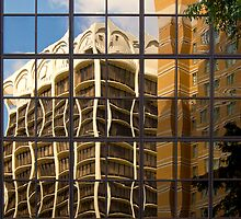Cityscape Reflection, Number 1 by Paul Bohman