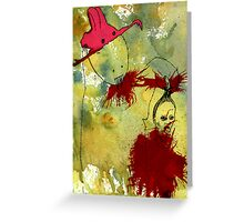 curious gorge  Greeting Card