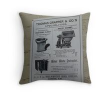 LUXURY home improvement! Throw Pillow