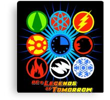 DC's Legends of Tomorrow (with Flash and Arrow) Canvas Print