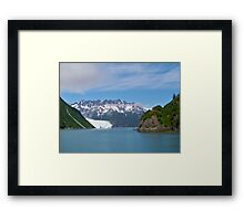 Aliak Glacier Framed Print