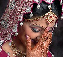 THE BLUSHING BRIDE by RakeshSyal