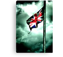 battered and torn ..... GB's old glory !!! Canvas Print