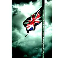 battered and torn ..... GB's old glory !!! Photographic Print