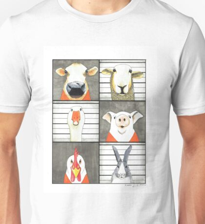 The Farmyard Gang got caught Unisex T-Shirt