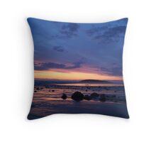 The Beach (Llangennith) Throw Pillow