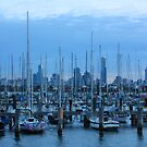 View to city from St Kilda Pier by Ian Stevenson