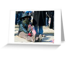 Cold Patriot 2 Greeting Card
