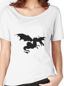 Flying Evil Dragon Women's Relaxed Fit T-Shirt