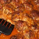 Italian Meatballs just out of oven by yurix