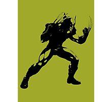 wolverine james walett logan comic book shirt Photographic Print