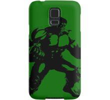 the incredible hulk bruce banner comic book shirt Samsung Galaxy Case/Skin