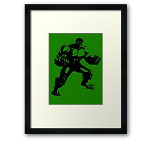 the incredible hulk bruce banner comic book shirt Framed Print