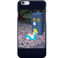Alice & The Tardis iPhone Case/Skin
