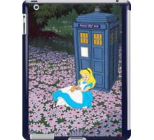 Alice & The Tardis iPad Case/Skin