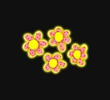 Red & Yellow Flowers Unisex T-Shirt