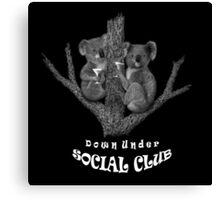 Down Under Social Club Canvas Print