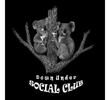 Down Under Social Club Photographic Print