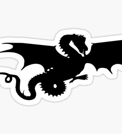 Flying Dragon Sticker Sticker