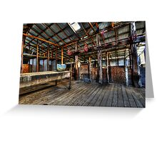 The Shearing Shed Greeting Card