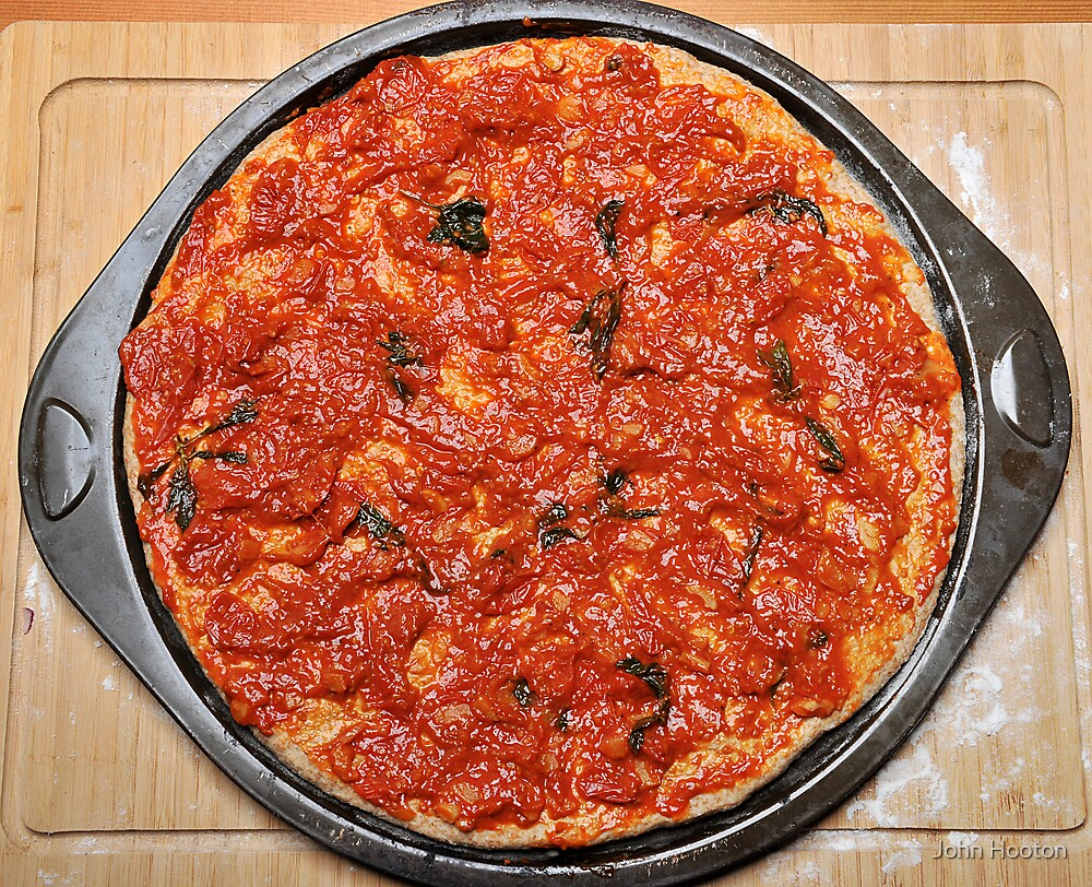 Pizza Topping Tomato Sauce by John Hooton