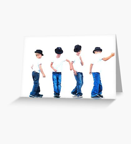 So you think you can dance! Greeting Card