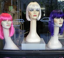 Wig shop Kings Cross by Youbeaut Designs