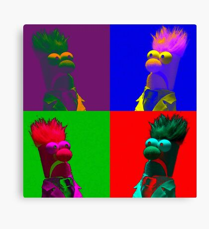 Beaker Pop Canvas Print