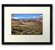Pyramid Mining District Framed Print