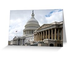 US Capitol, Northeast Greeting Card