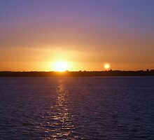 sunset by kona