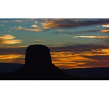 Desert Flames Photographic Print