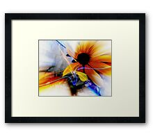 Bloom Where Your Planted     Framed Print