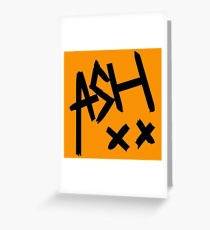 Ash Signature Pokemon Greeting Card