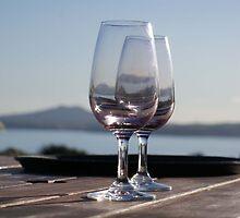 The wine glasses by kona