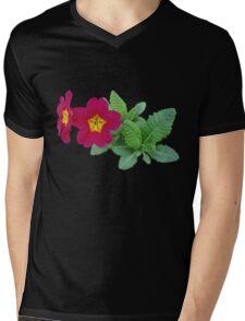 Primrose Posey Mens V-Neck T-Shirt
