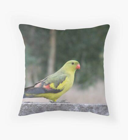 The Regent Parrot Throw Pillow