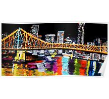 Storey Bridge Brisbane  Poster
