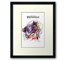 Urban Mononoke Framed Print