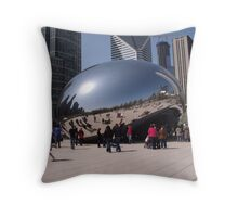 Milennium Park Throw Pillow