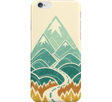 The Road Goes Ever On: Autumn iPhone Case/Skin