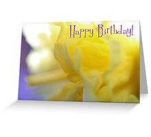 Happy Birthday - Ruffles Greeting Card Greeting Card