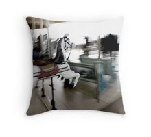 Campdown Races - who will win? Throw Pillow