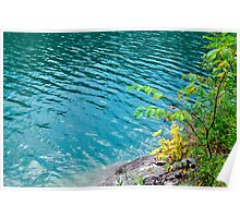 smaragd water Poster